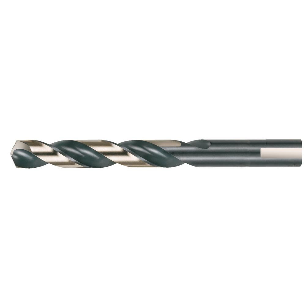 """Drill 33//64/"""" Cobalt Steel Silver /& Deming 1//2/"""" Reduced Shank with 3 Flats"""