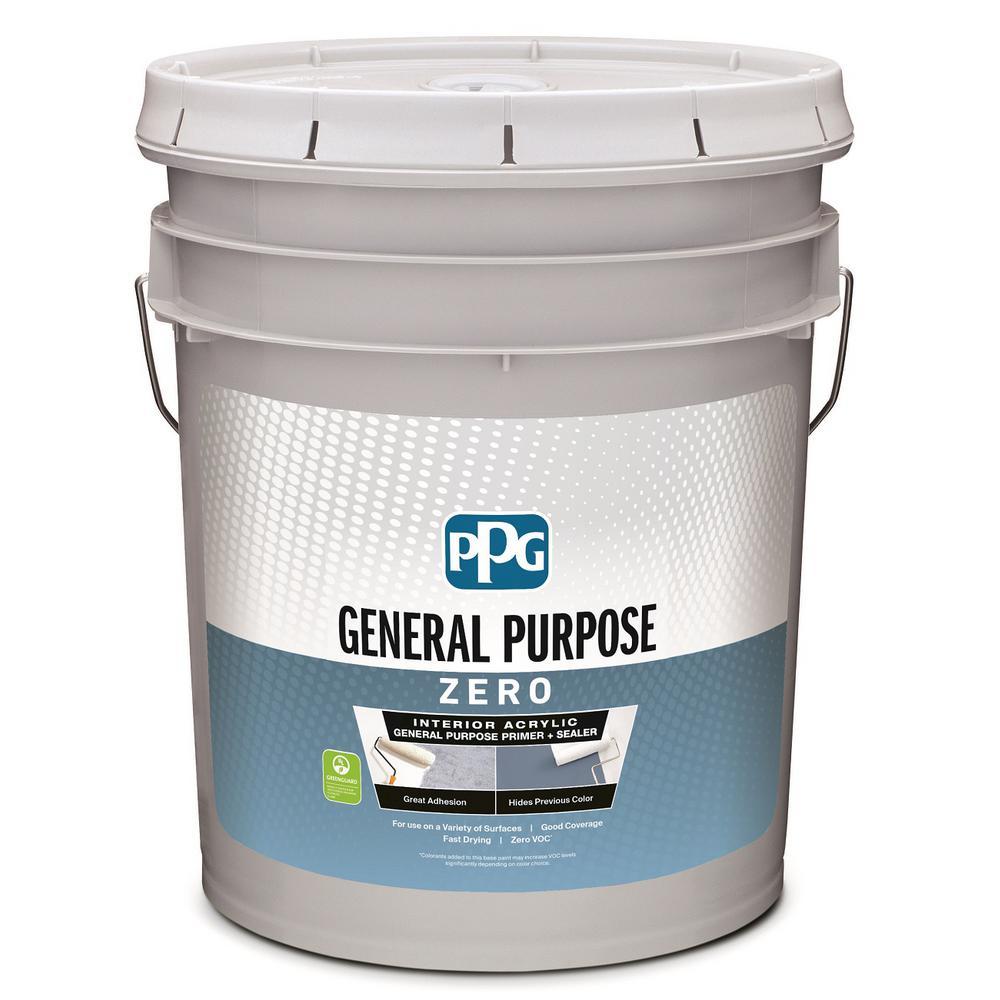 PPG 5 gal. White Interior General Purpose Primer Zero VOC
