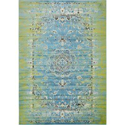 Imperial Sultan Blue 8' 0 x 11' 6 Area Rug