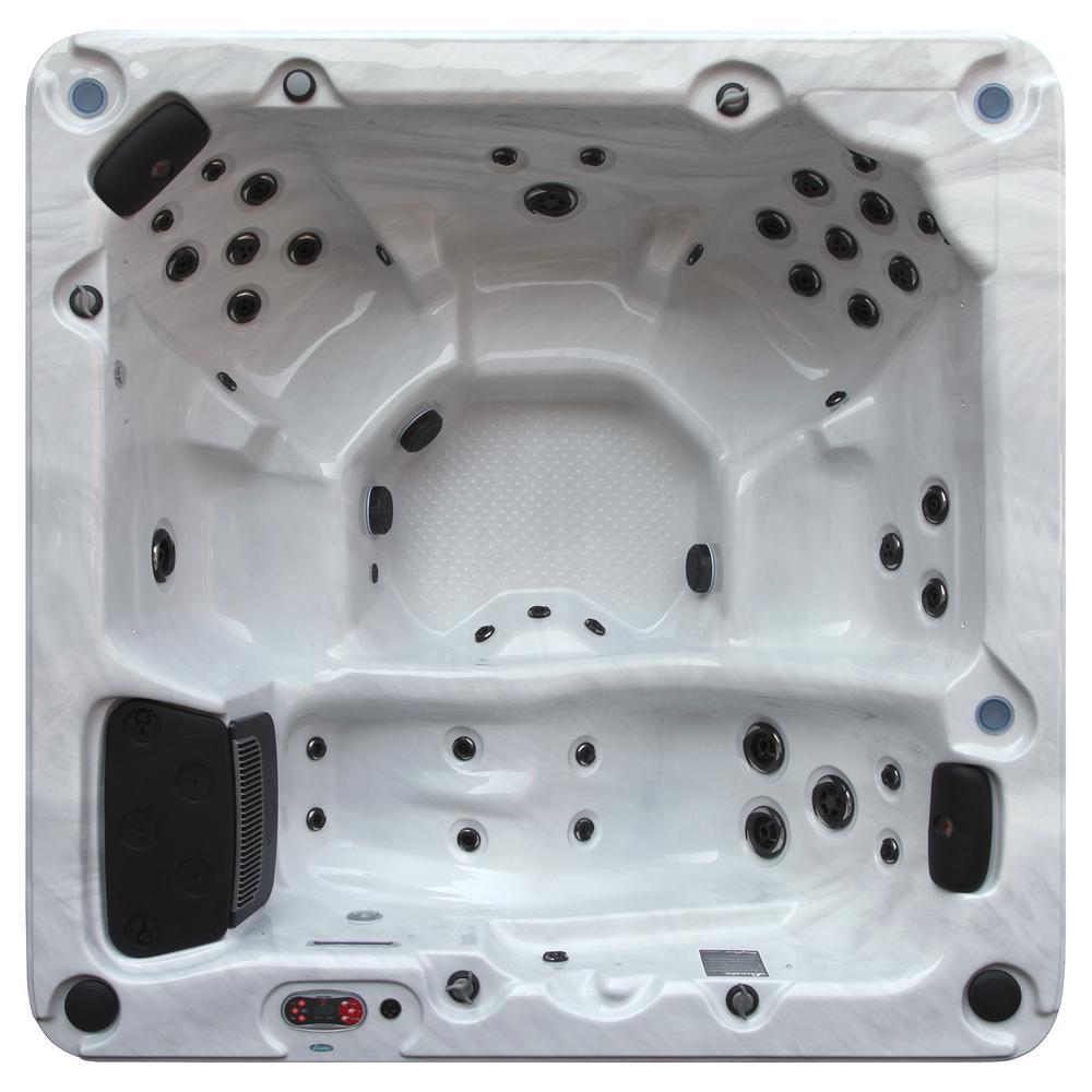 Thunder Bay 6-Person 1-Pump 44-Jet Standard Hot Tub