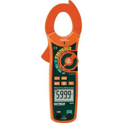600 Amp True RMS AC/DC Clamp Meter with NCV
