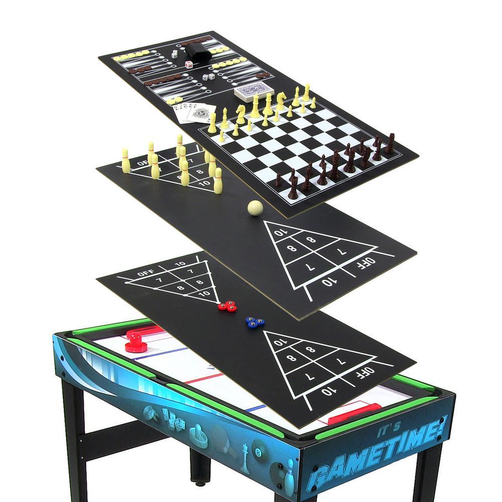 Sunnydaze Decor 10-in-1 Multi-Game Table