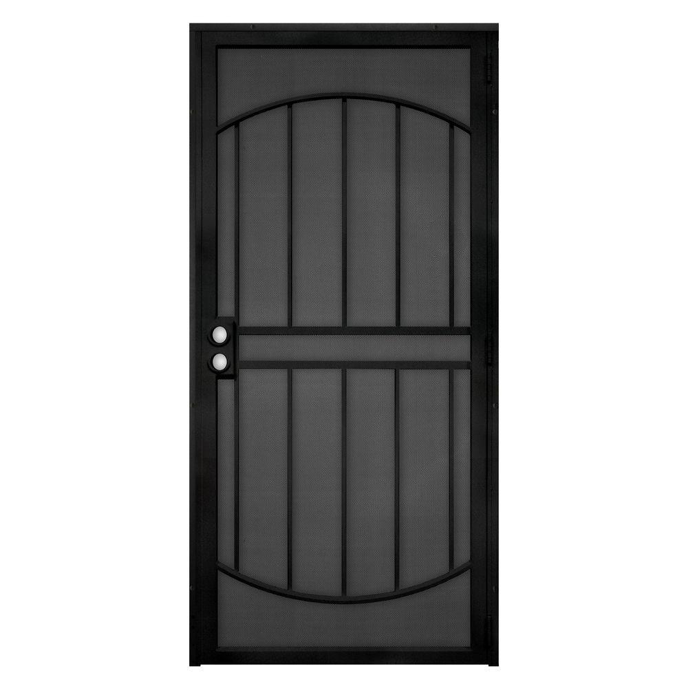 Arcada Steel Outswing Security Door with Expanded Metal Screen  sc 1 st  Home Depot & 32 x 80 - Security Doors - Exterior Doors - The Home Depot