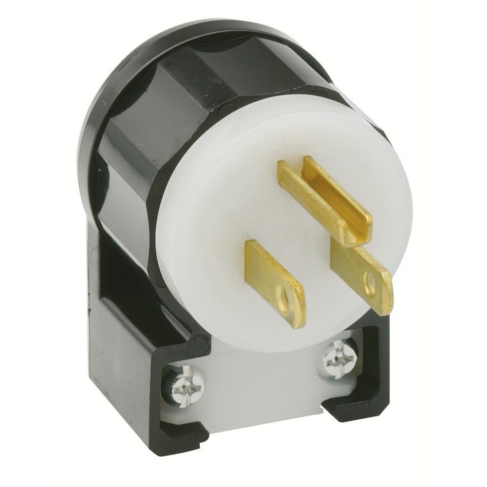Leviton 5266-CA Power Plug (NEMA 5-15P - 125 V AC / 15 A) from $8.57 ...