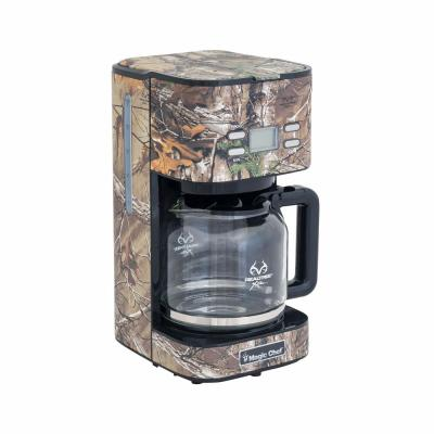 12-Cup Realtree Xtra Camoflauge Programmable Drip Coffee Maker