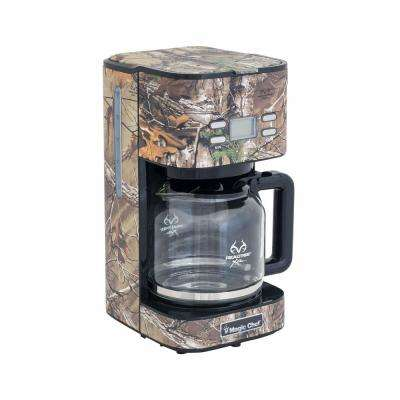 12-Cup Realtree Xtra Camouflage Coffee Maker