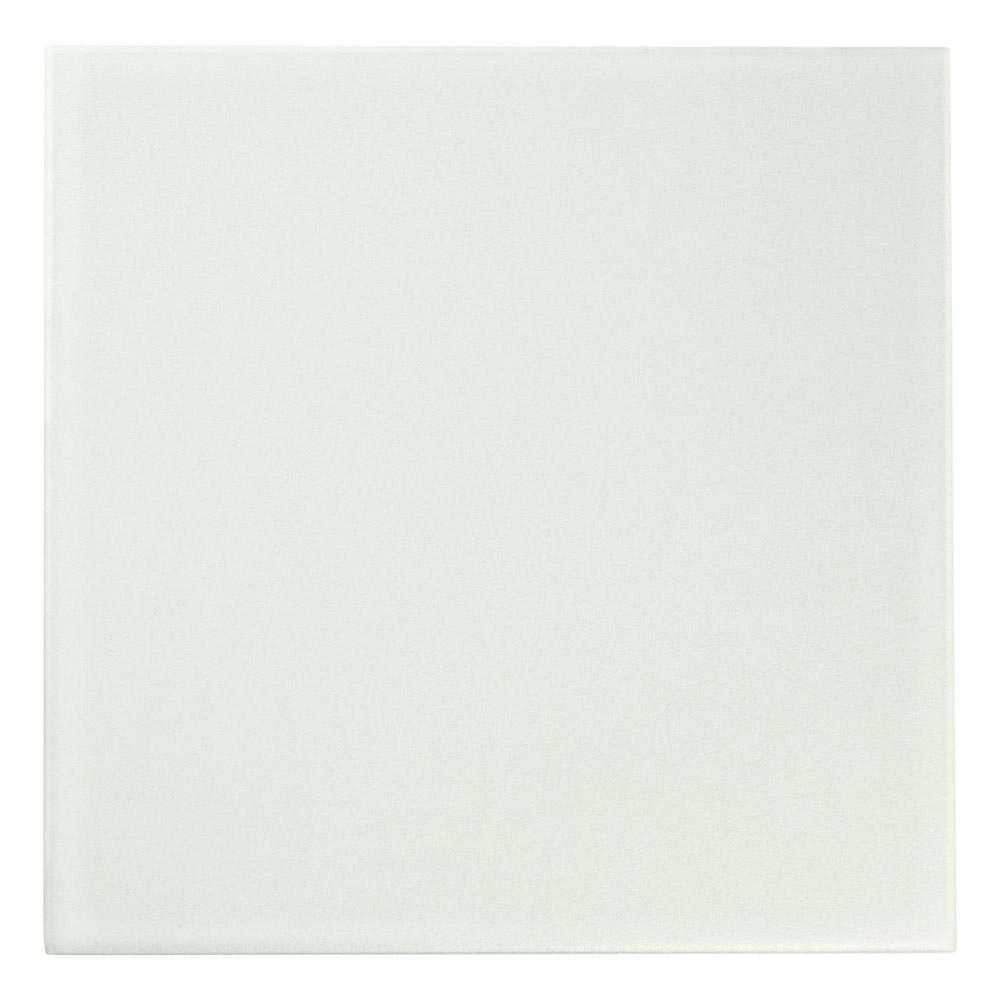 Merola Tile Revival White 7-3/4 in. x 7-3/4 in. Ceramic Floor and Wall Tile