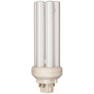 NEW HYGRADE QUAD TUBE 3500K CFD13W//835 GX23-2 COMPACT FLOURESCENT BULB 2 PLUG IN