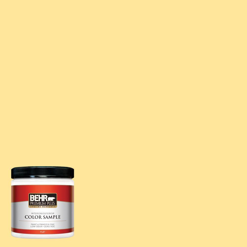 BEHR Premium Plus 8 oz. #380A-3 Summer Harvest Interior/Exterior Paint Sample