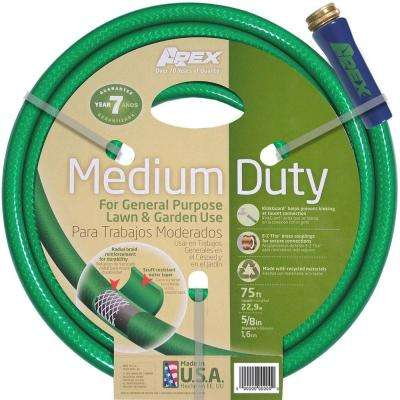 5/8 in. Dia x 75 ft. Medium Duty Water Hose
