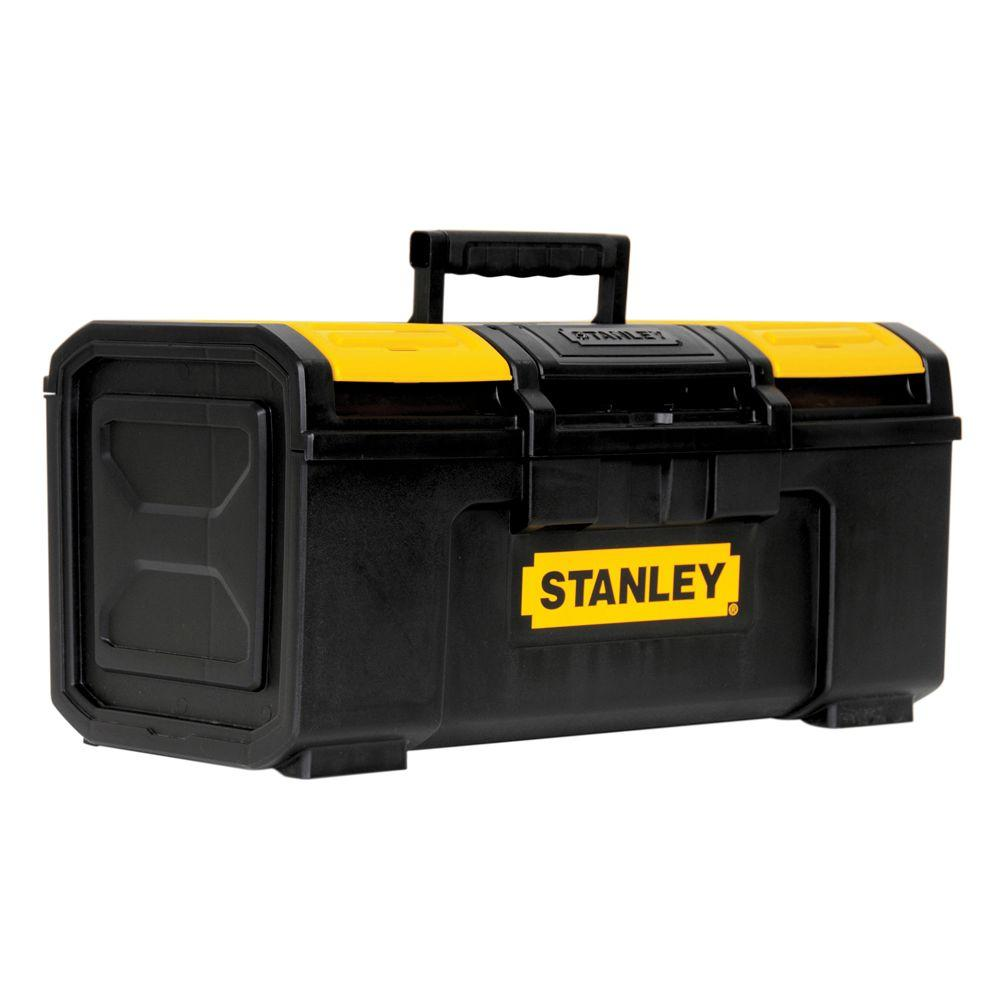 Stanley 19 in. 1-Touch Latch Tool Box with Lid Organizers