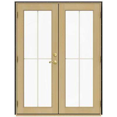 60 In. X 80 In. W 2500 Bronze Clad Wood Right Hand