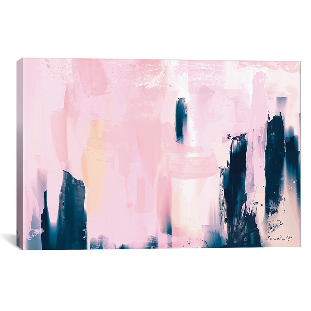 iCanvas ''Pink Navy'' by Dan Hobday Canvas Wall Art HOB80-1PC3-18x12