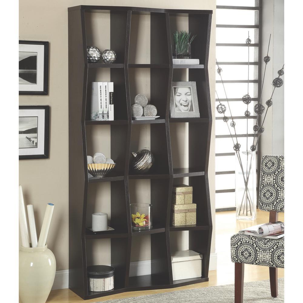 Martin Cappuccino Bookcase