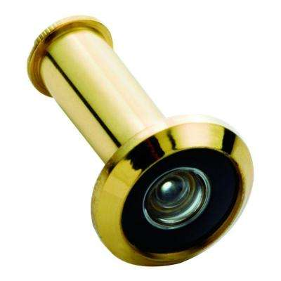 190 Degree Wide Angle Solid Brass Door Viewer