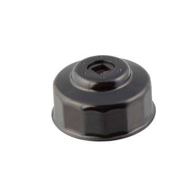 65 mm x 14 Flute Oil Filter Cap Wrench in Black