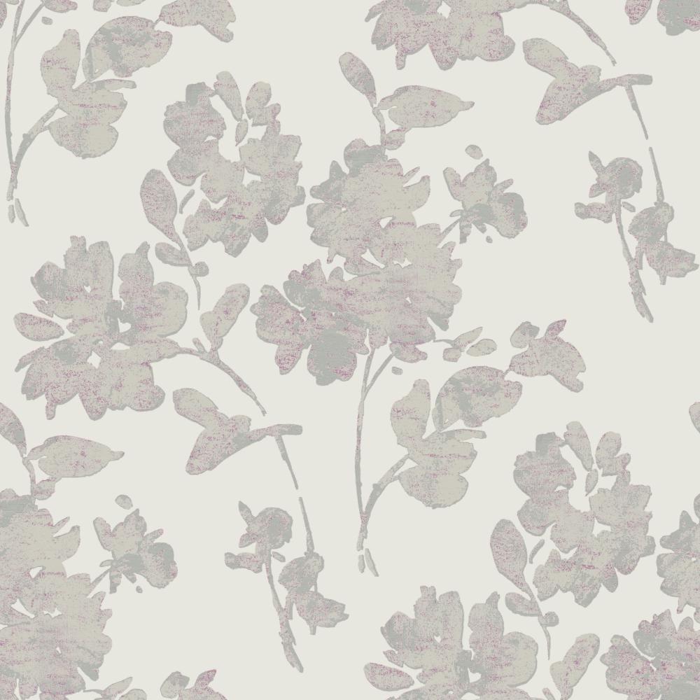 Glam Floral Spot Wallpaper