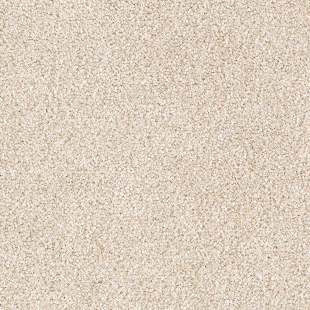 Carpet Sample - Tides Edge - Color Praline Textured 8 in. x 8 in.