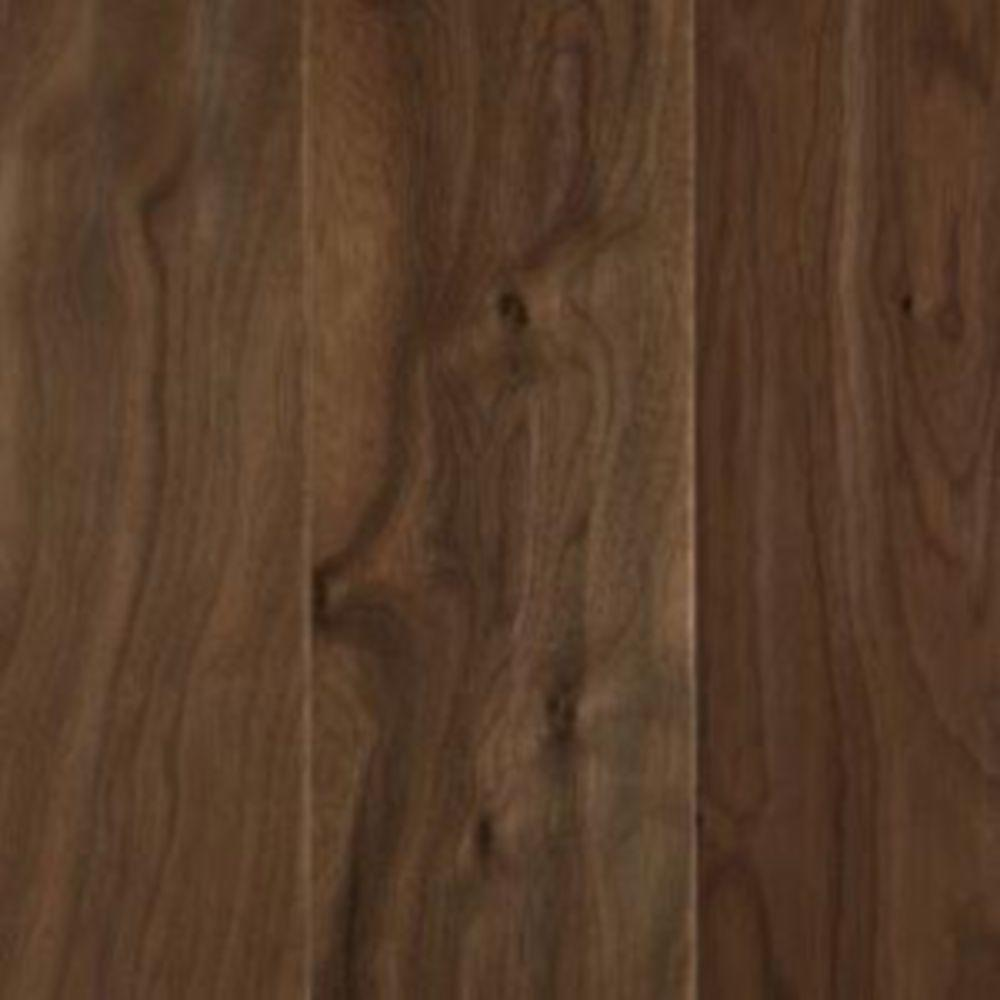 Mohawk Hardwood Flooring Reviews Part - 45: Mohawk Take Home Sample - Natural Walnut Engineered Hardwood Flooring - 5  In. X 7