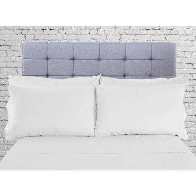 Hotel Collection 1800 6-Piece White Cotton/Polyester Queen Sheet Set