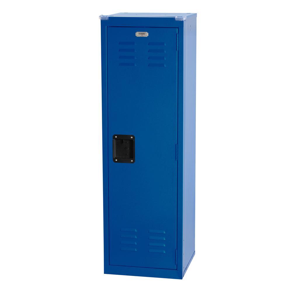 48 in. H x 15 in. W x 15 in. D 1-Tier Steel Locker in Ocean