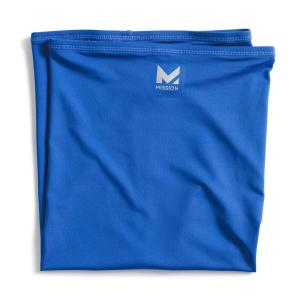 Blue Polyester Hydro Active Unisex Multi-Cooling Full Neck Gaiter