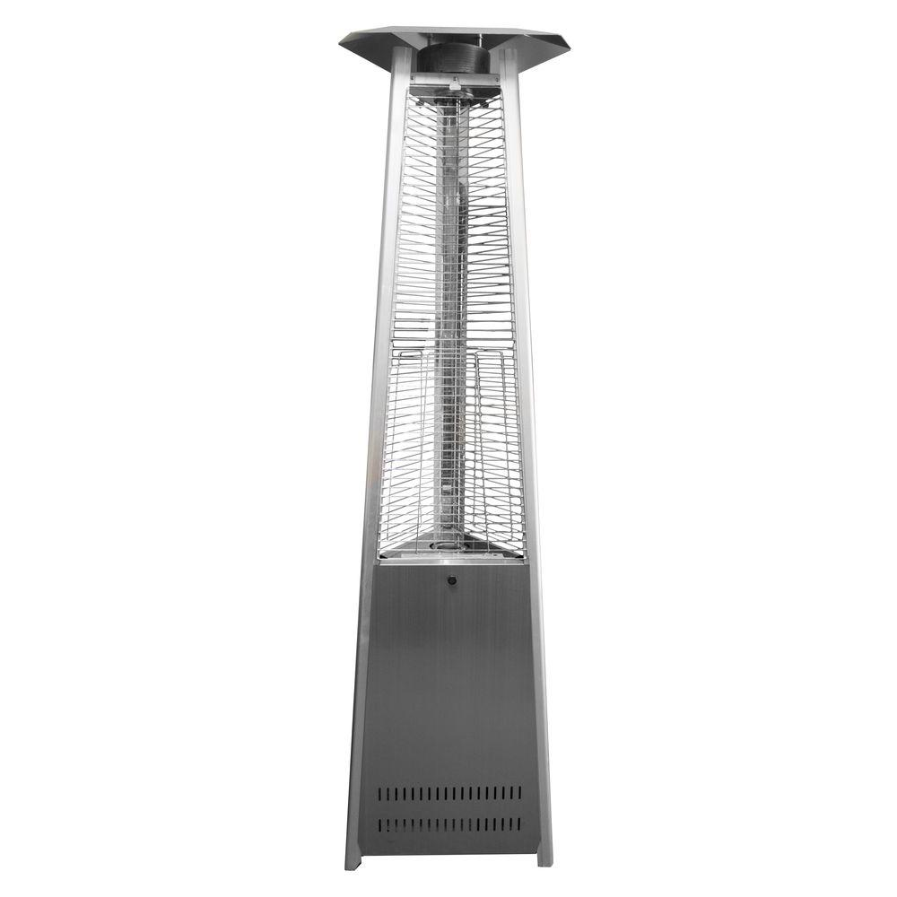 AZ Patio Heaters 38,000 BTU Commercial Stainless Steel Quartz Tube Gas Patio Heater