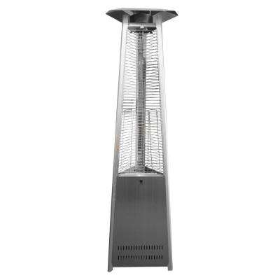 38,000 BTU Commercial Stainless Steel Quartz Tube Gas Patio Heater