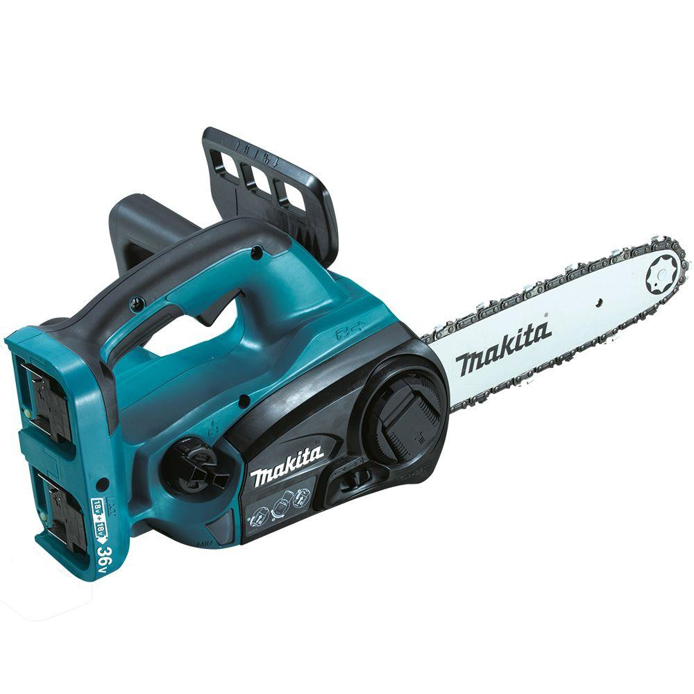 Makita 18 volt x2 36 volt lxt lithium ion cordless top handle makita 18 volt x2 36 volt lxt lithium ion cordless top handle chainsaw tool only xcu02z the home depot greentooth Choice Image