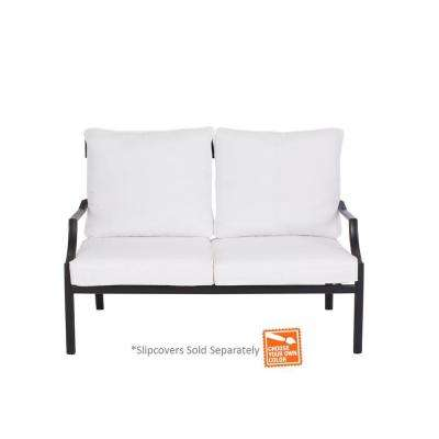 Oak Heights Patio Loveseat with Cushion Insert (Slipcovers Sold Separately)