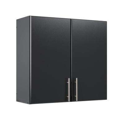 Elite Black 32 in. Wall Cabinet