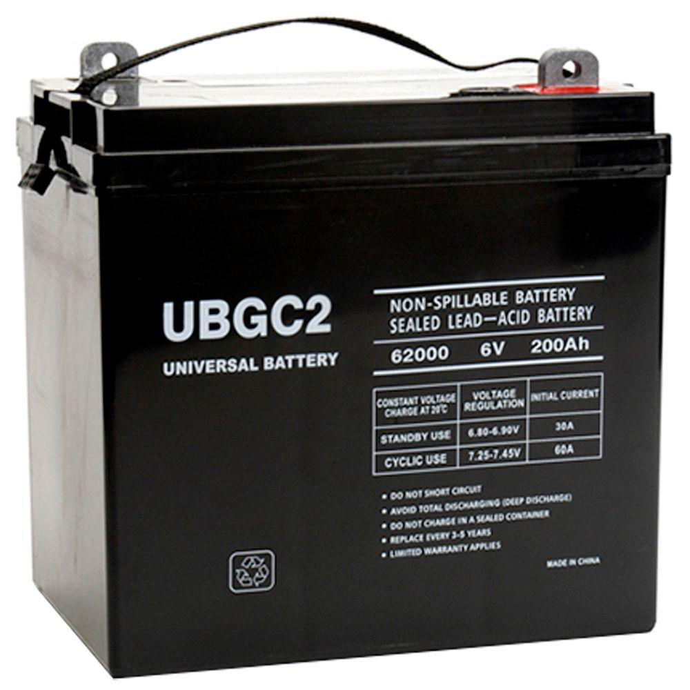 The Upgrade Group SLA 6-Volt L5 Post Terminal Battery