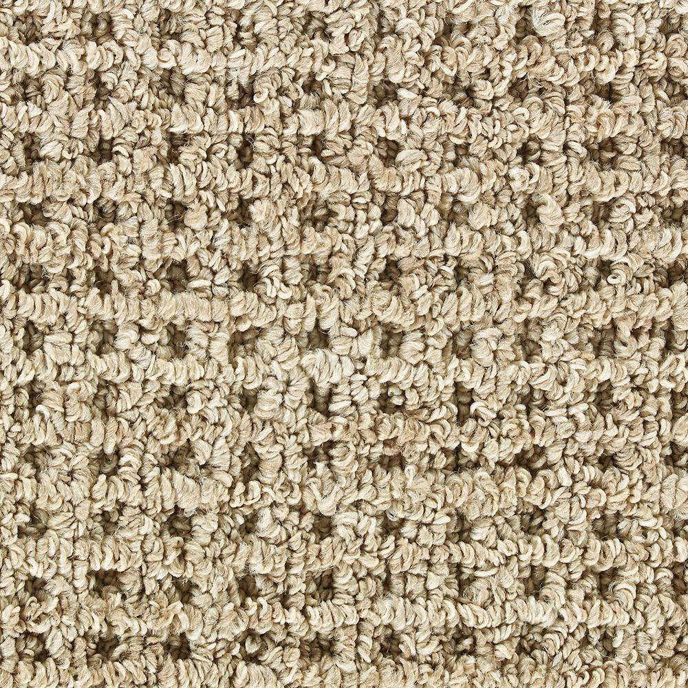 Martha Stewart Living Hillwood Ash Bark - 6 in. x 9 in. Take Home Carpet Sample