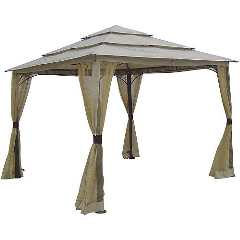 null 10 ft. x 10 ft. 3-Tier Gazebo