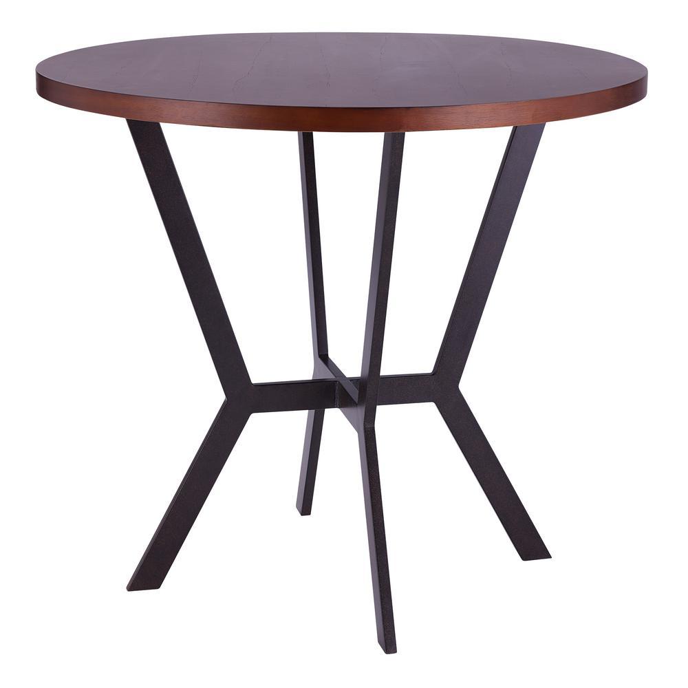 Armen Living Pike Sedona Wood Bar Table