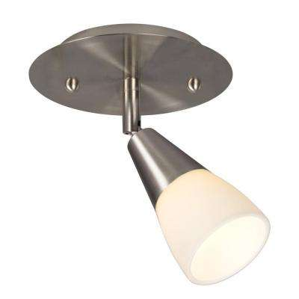 Carter 1-Light Brushed Nickel Track Lighting Kit
