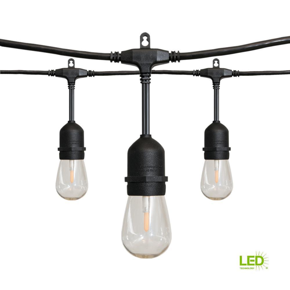 24 ft. 12-Light Filament LED String Light