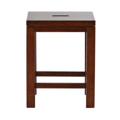Craft Space Sequoia Wood Counter Stool