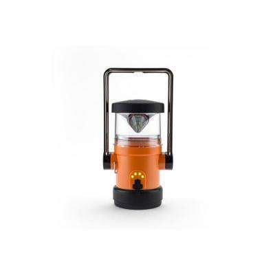 Heli 4400 Classic AC Wall Adapter LED Rechargeable Lantern in Orange