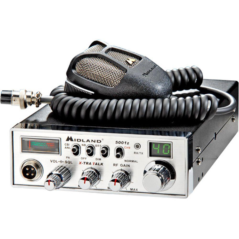 30-Mile 40 Channel CB Radio with Digital Tuner (1-Pack)