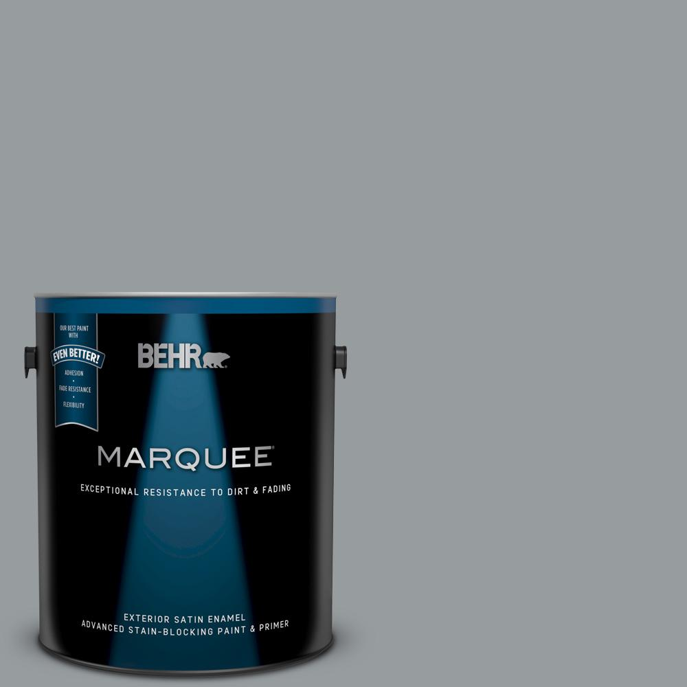 Behr marquee 1 gal n500 4 pencil sketch satin enamel exterior paint and