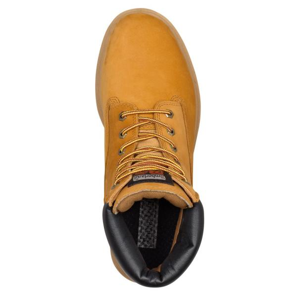 Clavijas Tulipanes que te diviertas  Timberland PRO Men's Direct Attach Waterproof 6'' Work Boots - Steel Toe -  Wheat Size 14 (M)-TB065016713_140M - The Home Depot