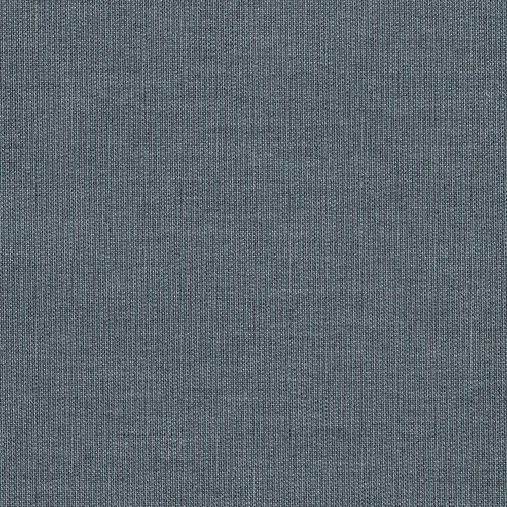 Hampton Bay Oak Cliff Sunbrella Spectrum Denim Patio Dining Chair Slipcover (2-Pack)
