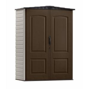 Rubbermaid 2 ft. 4 inch x 4 ft. 8 inch Small Vertical Resin Stroage Shed by Rubbermaid