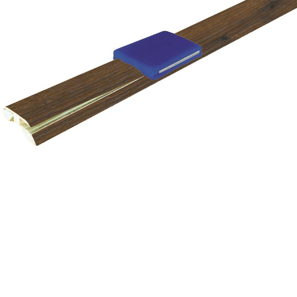 null Rustic Winchester Oak 1-3/4 in. Wide x 84.6 in. Length InstaForm 4-in-1 Laminate Molding