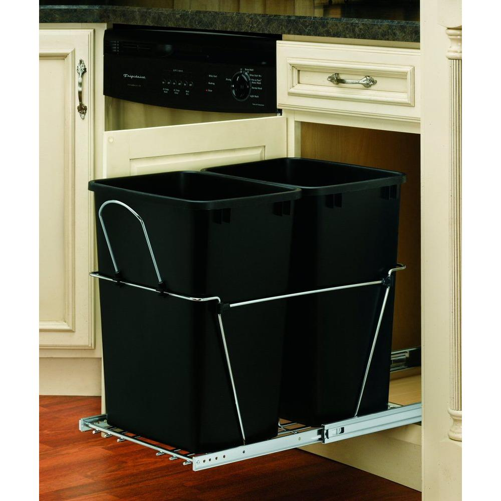 Rev A Shelf 19 In H X 14 75 In W X 22 In D Base Cabinet: Kitchen Storage & Organization