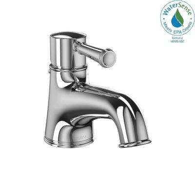 Vivian Single Hole Handle Bathroom Faucet In Polished Chrome