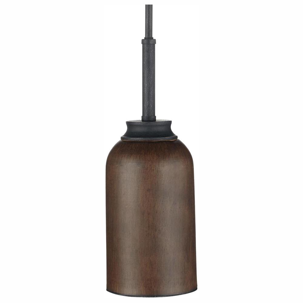 Palermo Grove 1-Light 9-Watt Gilded Iron Integrated LED Mini Pendant