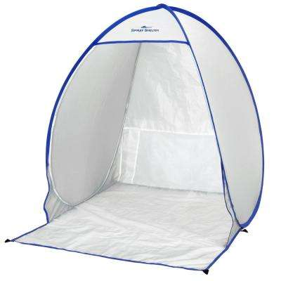 2.9 x 2.5 White Polyester Small Spray Shelter