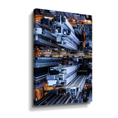 Hongkong I' by PhotoINC Studio Canvas Wall Art